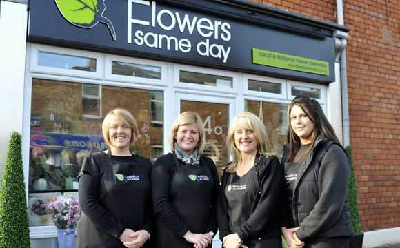 Same day flower delivery Chandlers Ford