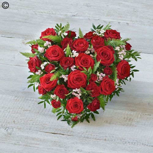 funeral hearts  fsd florists  same day flower delivery, Beautiful flower