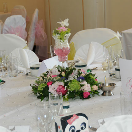 Pearl Table Centre.