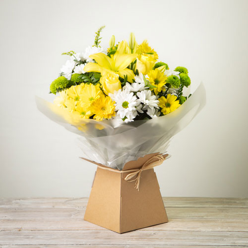 Simplicity Hand-Tied - Yellow