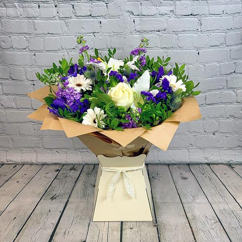 Purple Wishes Hand-tied