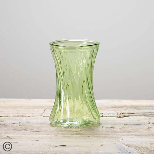 Lime Nigella Vase