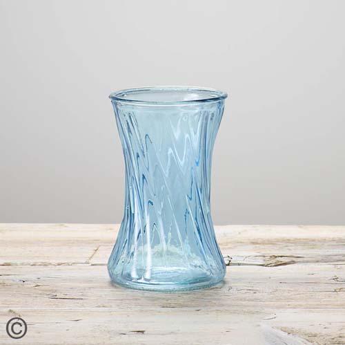 Blue Nigella Vase
