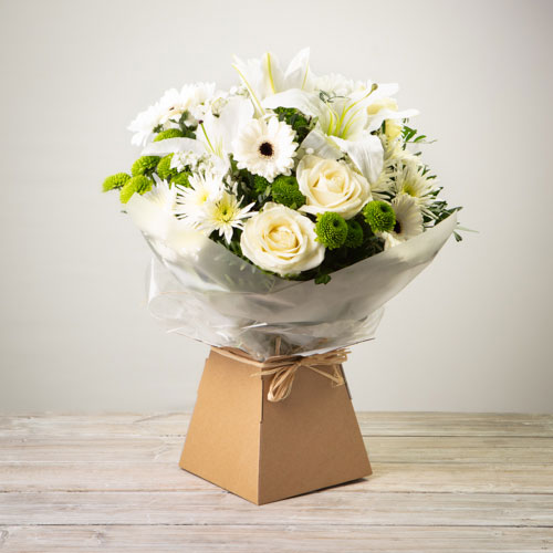 Simplicity Hand-tied (White)