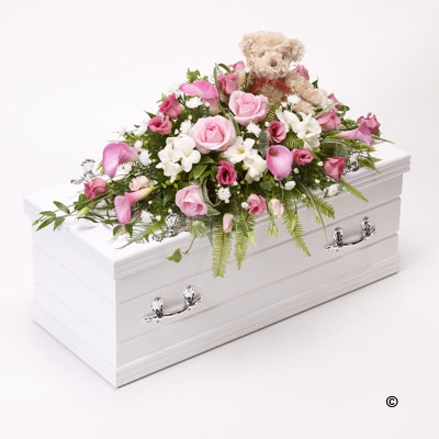 Childrens Casket Spray