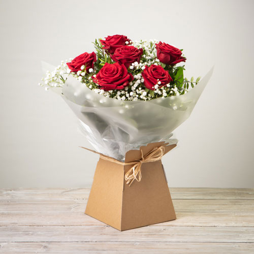 Rose Handtied - RED