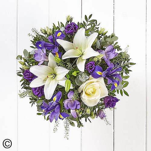 Lavenders Blue Hand-tied